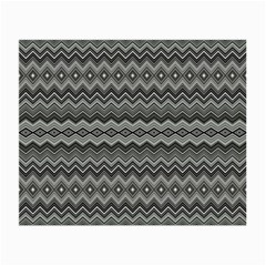 Greyscale Zig Zag Small Glasses Cloth (2 Side)