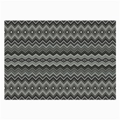 Greyscale Zig Zag Large Glasses Cloth (2 Side)