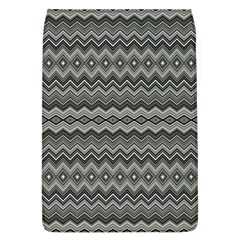 Greyscale Zig Zag Flap Covers (l)