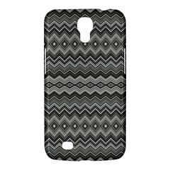 Greyscale Zig Zag Samsung Galaxy Mega 6 3  I9200 Hardshell Case