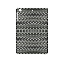 Greyscale Zig Zag Ipad Mini 2 Hardshell Cases