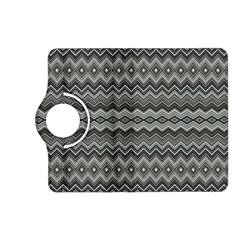 Greyscale Zig Zag Kindle Fire Hd (2013) Flip 360 Case