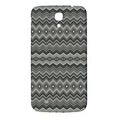 Greyscale Zig Zag Samsung Galaxy Mega I9200 Hardshell Back Case