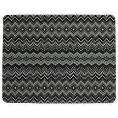 Greyscale Zig Zag Jigsaw Puzzle Photo Stand (rectangular)