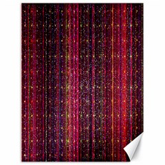 Colorful And Glowing Pixelated Pixel Pattern Canvas 18  X 24