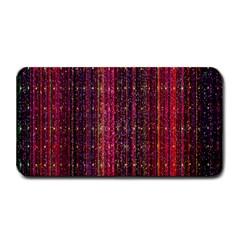 Colorful And Glowing Pixelated Pixel Pattern Medium Bar Mats