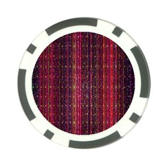 Colorful And Glowing Pixelated Pixel Pattern Poker Chip Card Guard
