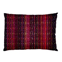Colorful And Glowing Pixelated Pixel Pattern Pillow Case