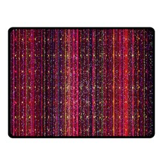 Colorful And Glowing Pixelated Pixel Pattern Fleece Blanket (small)
