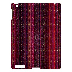 Colorful And Glowing Pixelated Pixel Pattern Apple Ipad 3/4 Hardshell Case