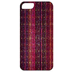 Colorful And Glowing Pixelated Pixel Pattern Apple Iphone 5 Classic Hardshell Case