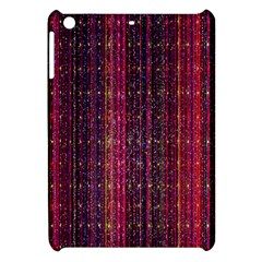 Colorful And Glowing Pixelated Pixel Pattern Apple Ipad Mini Hardshell Case