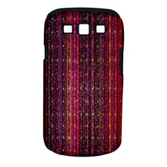 Colorful And Glowing Pixelated Pixel Pattern Samsung Galaxy S III Classic Hardshell Case (PC+Silicone)
