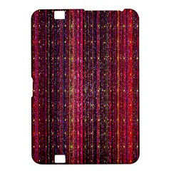 Colorful And Glowing Pixelated Pixel Pattern Kindle Fire Hd 8 9