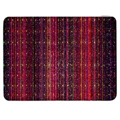 Colorful And Glowing Pixelated Pixel Pattern Samsung Galaxy Tab 7  P1000 Flip Case