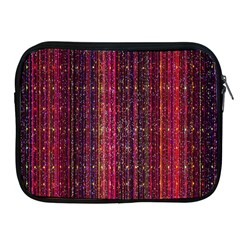 Colorful And Glowing Pixelated Pixel Pattern Apple Ipad 2/3/4 Zipper Cases