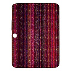 Colorful And Glowing Pixelated Pixel Pattern Samsung Galaxy Tab 3 (10 1 ) P5200 Hardshell Case