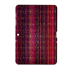 Colorful And Glowing Pixelated Pixel Pattern Samsung Galaxy Tab 2 (10 1 ) P5100 Hardshell Case