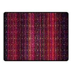 Colorful And Glowing Pixelated Pixel Pattern Double Sided Fleece Blanket (small)