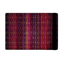 Colorful And Glowing Pixelated Pixel Pattern Ipad Mini 2 Flip Cases