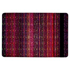 Colorful And Glowing Pixelated Pixel Pattern Ipad Air Flip