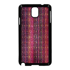 Colorful And Glowing Pixelated Pixel Pattern Samsung Galaxy Note 3 Neo Hardshell Case (black)