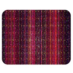 Colorful And Glowing Pixelated Pixel Pattern Double Sided Flano Blanket (medium)