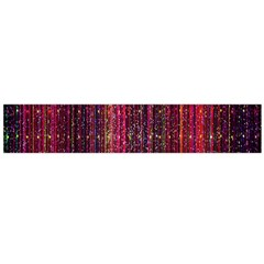Colorful And Glowing Pixelated Pixel Pattern Flano Scarf (large)