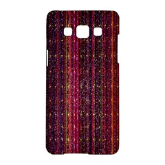 Colorful And Glowing Pixelated Pixel Pattern Samsung Galaxy A5 Hardshell Case