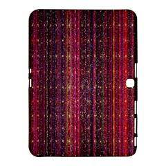 Colorful And Glowing Pixelated Pixel Pattern Samsung Galaxy Tab 4 (10 1 ) Hardshell Case