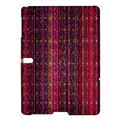 Colorful And Glowing Pixelated Pixel Pattern Samsung Galaxy Tab S (10 5 ) Hardshell Case