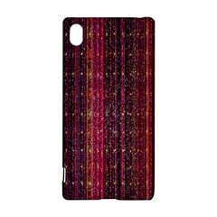Colorful And Glowing Pixelated Pixel Pattern Sony Xperia Z3+