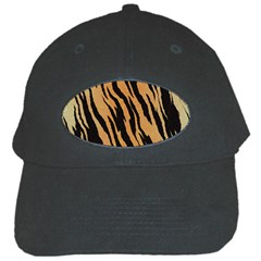 Tiger Animal Print A Completely Seamless Tile Able Background Design Pattern Black Cap