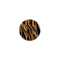 Tiger Animal Print A Completely Seamless Tile Able Background Design Pattern 1  Mini Buttons