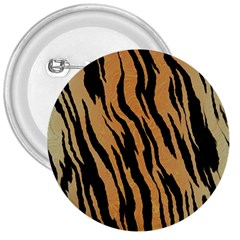 Tiger Animal Print A Completely Seamless Tile Able Background Design Pattern 3  Buttons