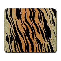Tiger Animal Print A Completely Seamless Tile Able Background Design Pattern Large Mousepads