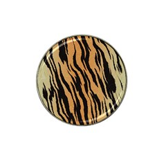 Tiger Animal Print A Completely Seamless Tile Able Background Design Pattern Hat Clip Ball Marker (4 Pack)
