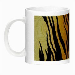 Tiger Animal Print A Completely Seamless Tile Able Background Design Pattern Night Luminous Mugs