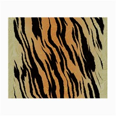 Tiger Animal Print A Completely Seamless Tile Able Background Design Pattern Small Glasses Cloth