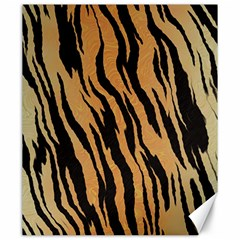 Tiger Animal Print A Completely Seamless Tile Able Background Design Pattern Canvas 20  X 24