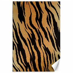Tiger Animal Print A Completely Seamless Tile Able Background Design Pattern Canvas 20  X 30