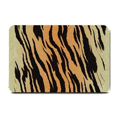 Tiger Animal Print A Completely Seamless Tile Able Background Design Pattern Small Doormat