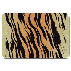 Tiger Animal Print A Completely Seamless Tile Able Background Design Pattern Large Doormat