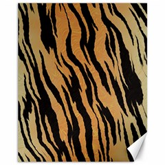 Tiger Animal Print A Completely Seamless Tile Able Background Design Pattern Canvas 11  X 14