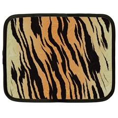 Tiger Animal Print A Completely Seamless Tile Able Background Design Pattern Netbook Case (Large)