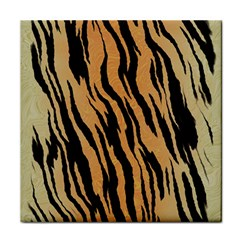 Tiger Animal Print A Completely Seamless Tile Able Background Design Pattern Face Towel