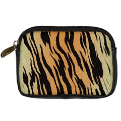 Tiger Animal Print A Completely Seamless Tile Able Background Design Pattern Digital Camera Cases