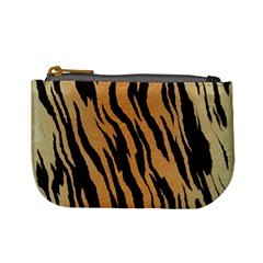 Tiger Animal Print A Completely Seamless Tile Able Background Design Pattern Mini Coin Purses