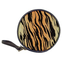 Tiger Animal Print A Completely Seamless Tile Able Background Design Pattern Classic 20-CD Wallets