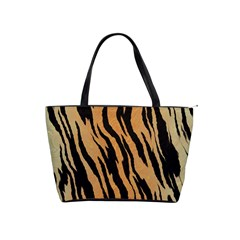 Tiger Animal Print A Completely Seamless Tile Able Background Design Pattern Shoulder Handbags